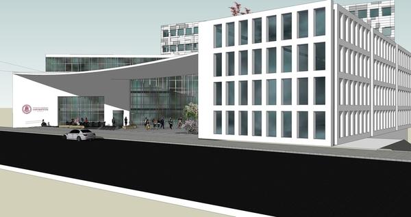 2013 daugiafunkcinio studiju ir mokslo centro pastato 1