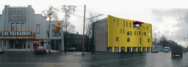 administracinis pastatas savanoriu pr1